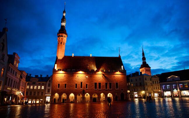 Таллиннская ратуша.