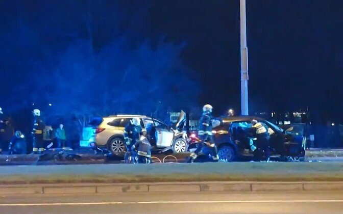 Liiklusõnnetus Pirita teel.