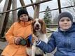Hüpokoer Krissu koos Oskari ja tema ema Pille Vaheriga.