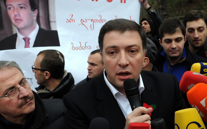 Gruusia opositsiooniliider Gigi Ugulava.