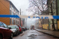 House fire in Pebre Street, Tallinn.