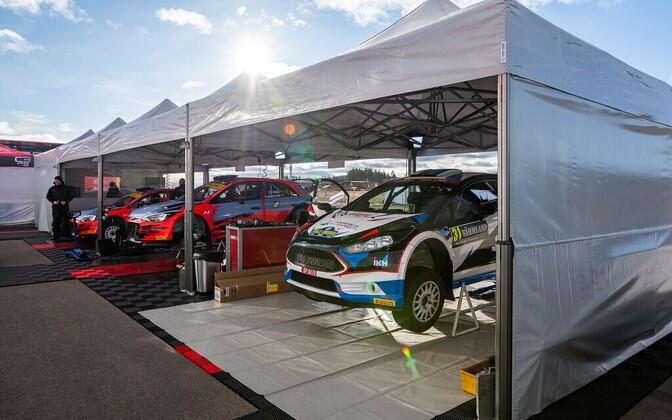 Roland Poom teeb Rootsis R5 autoga esimese MM-ralli.