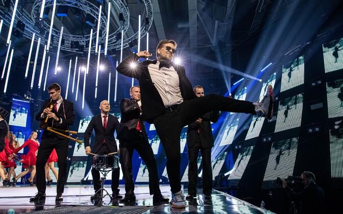 Eesti Laulu 1. poolfinali läbimäng, 5miinust