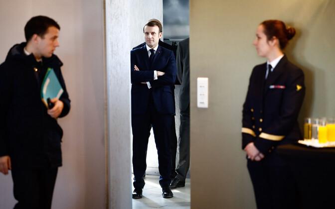 Prantsusmaa president Emmanule Macron.