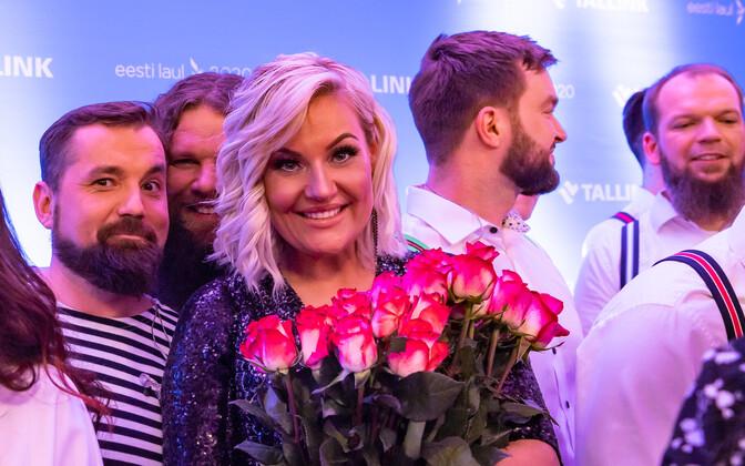 Фанаты встретились с полуфиналистами Eesti Laul.