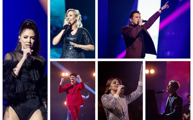 First semi-final of Eesti Laul.