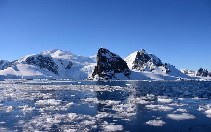 Antarktika.