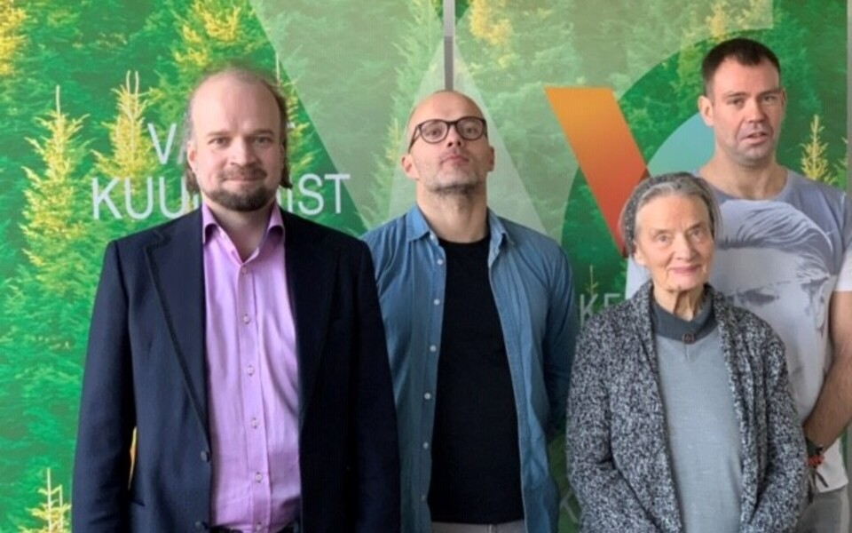 Madis Kolk, Meelis Oidsalu, Lea Tormis ja Valle-Sten Maiste