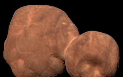 Arrokoth, varasemalt Ultima Thuleks kutsutud Neptuuni-tagune keha.