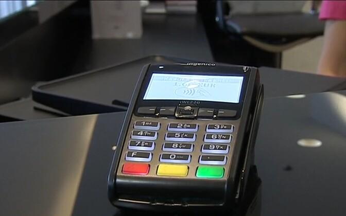 Kaardimakseterminal.