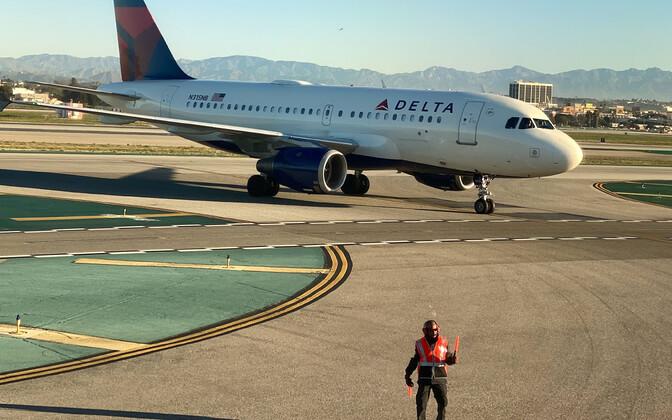 USA Delta lennufirma lennuk Airbus.