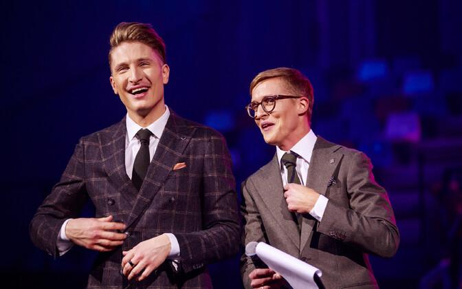 Eesti Laulu teise poolfinaali läbimäng, Tõnis Niinemets ja Karl-Erik Taukar