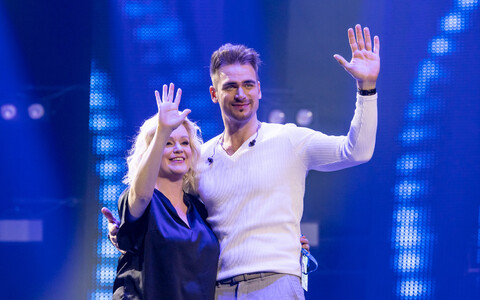 Karmel Killandi ja Eesti Laul 2020 võitja Uku Suviste