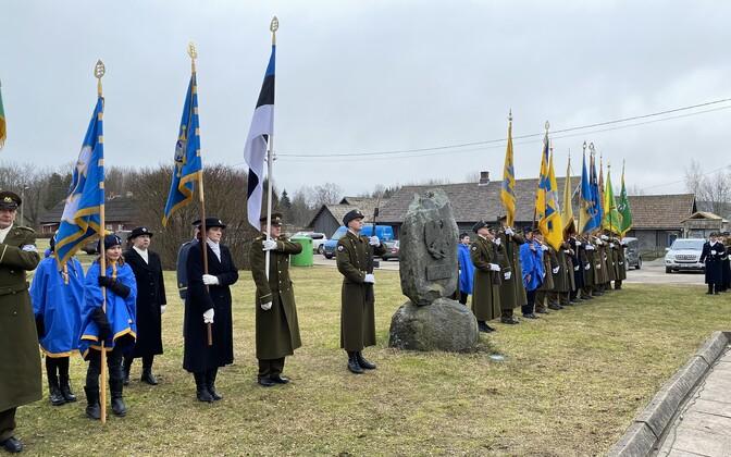 Kaitseliidu taastamise 30. aastapäeva tähistamine.