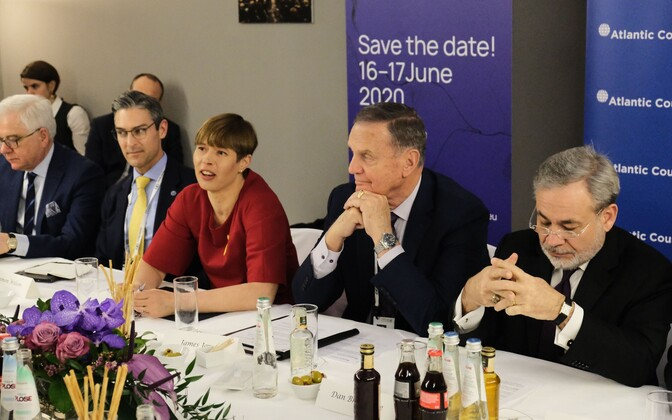 President Kersti Kaljulaid at this weekend's Munich Security Conference