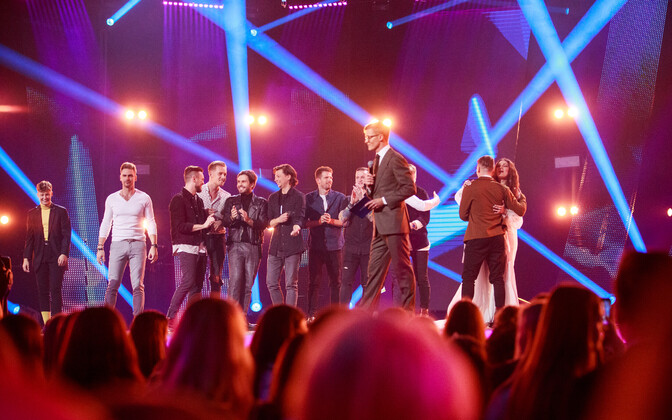 Second semi-final of the Eesti Laul song contest.