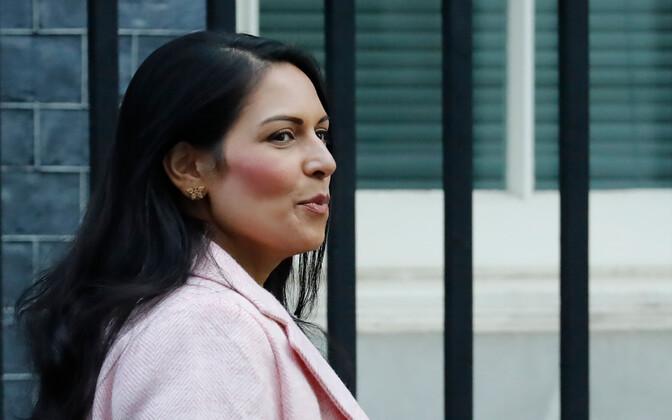 Briti siseminister Priti Patel.