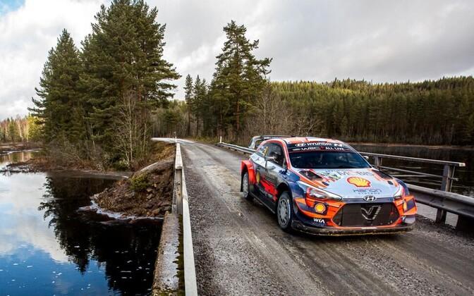 Tänak-Järveoja - Rally Sweden.