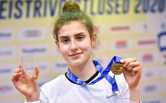 Екатерина Миротворцева установила новый рекорд Эстонии.