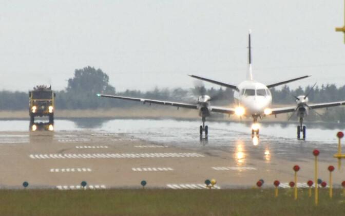Saab 340 tüüpi lennuk.
