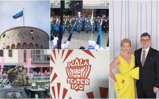 Основные праздничные мероприятия ко Дню независимости Эстонии пройдут в Таллинне и Вильянди.