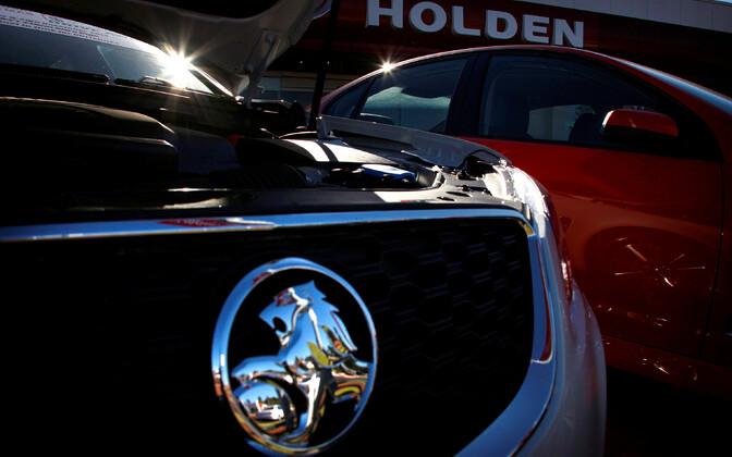 Holdeni autod Austraalias Perthis.