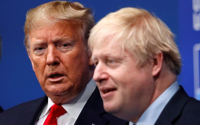 Donald Trump ja Boris Johnson 2019. aasta detsembris.