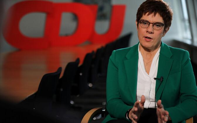 CDU senine juht Annegret Kramp-Karrenbauer.