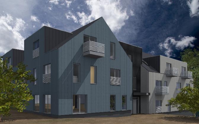 В Валага построят муниципальный дом.