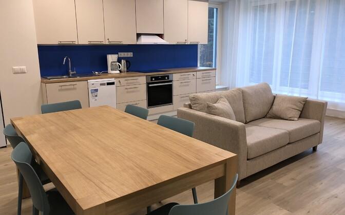 Дом для людей с особыми психическими потребностями в Таллинне.