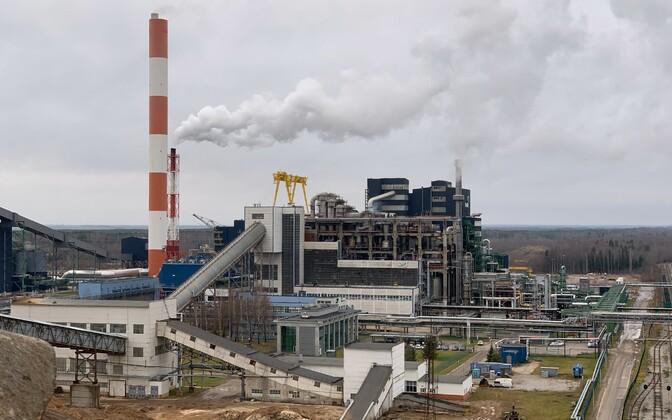 Завод по производству сланцевого масла Enefit.