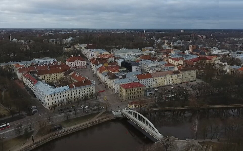 В Тарту серьезно задумались о рельсовом траснпорте.