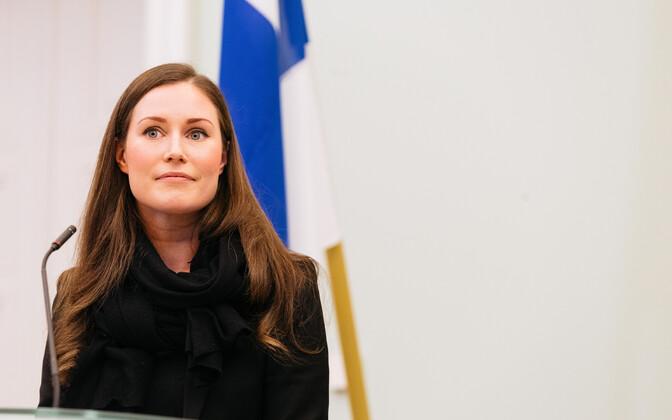 Soome peaminister Sanna Marin.