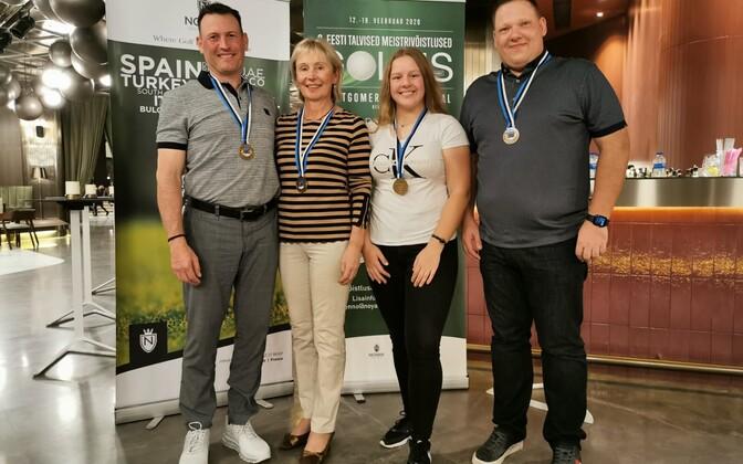 Kolm päeva Türgis väldanud Eesti talviste meistrivõistluste võitjateks krooniti Janno Sild (Rae Golfiklubi), Anete Liis Adul (EGCC), Raido Raamat (Saaremaa Golfiklubi) ja Anne Petter (Niitvälja Golfiklubi).