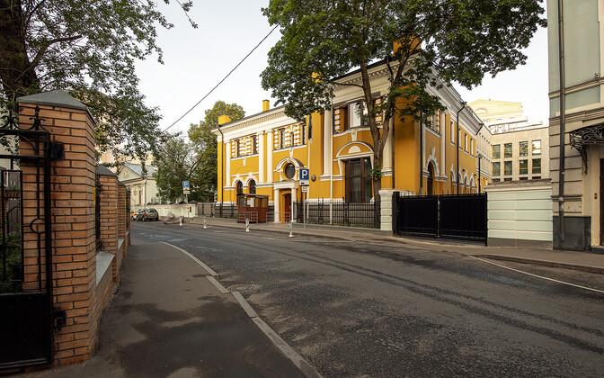 Посольство Эстонии в центре Москвы