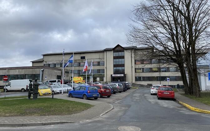 Lääne County Hospital.