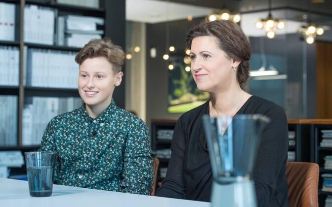 Inger ja Janne Fridolin
