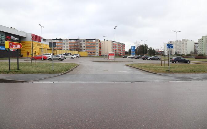 Инцидент произошел на улице Кярбери.