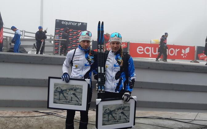 Kaksikõed Kaasikud Norra meistrivõistlustel