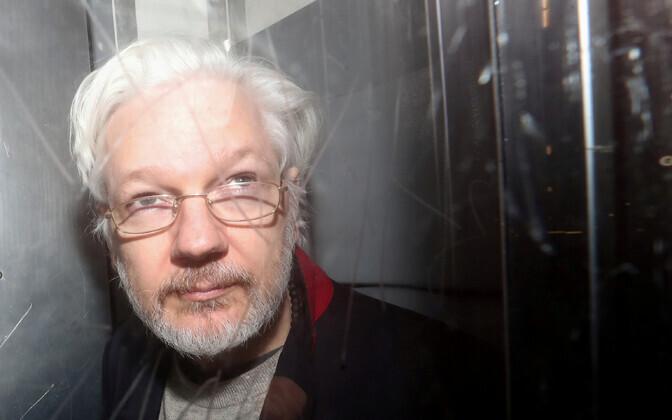 Julian Assange 2020. aasta jaanuaris Londoni kohtus.