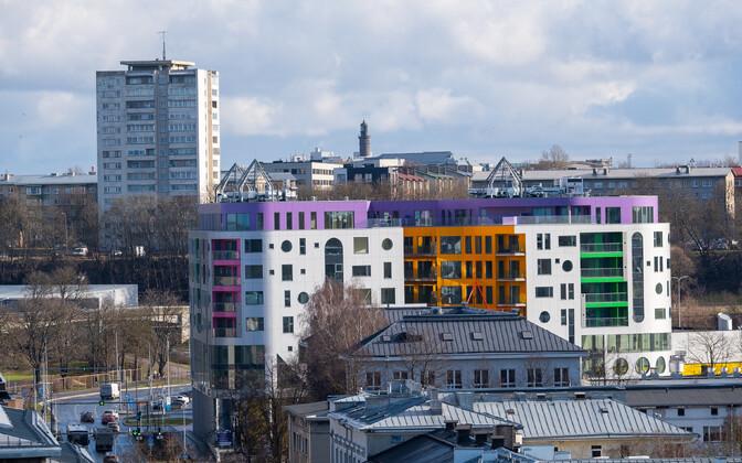 Apartment blocks in Tallinn. Picture is illustrative.