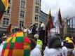 150 фермеров из стран Балтии устроили пикет в Брюсселе.