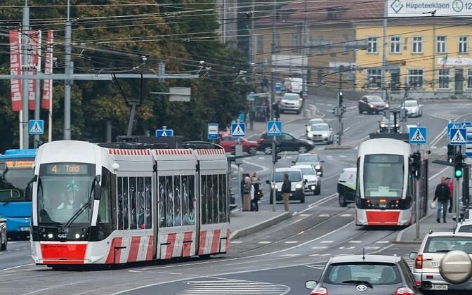 Trammid liikluses