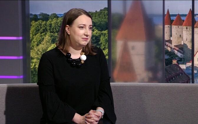 Вице-мэр Таллинна Бетина Бешкина.