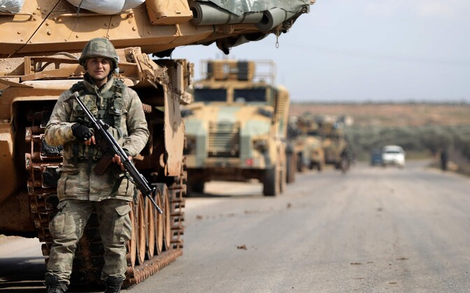 Türgi sõdur Idlibi provintsis.