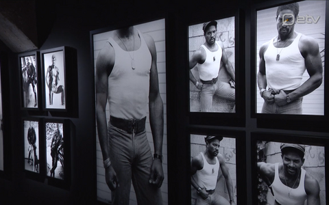 Tom of Finlandi fotode näitus.