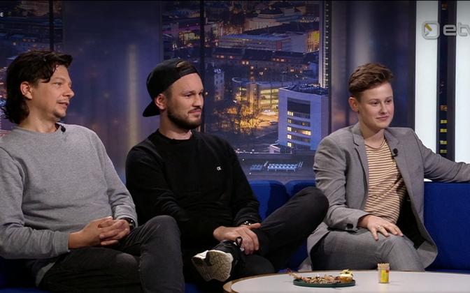 Финалистка Eesti Laul Ингер Фридолин и участники группы Traffic Сильвер Лаас и Стиг Ряста оценили своих конкурентов.
