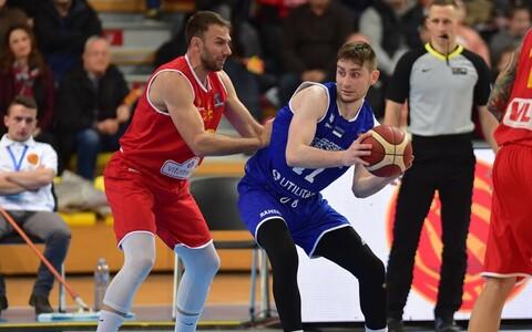 Kristian Kullamäe mängus Põhja-Makedoonia vastu