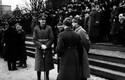 Välisriikide sõjaväeesindajad paraadi jälgimas. 24.02.1940.
