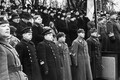 Aastapäevaparaadi jälgisid Eesti riigijuhtide tribüüni kõrval ka Eestis asuvate Nõukogude baaside juhid.